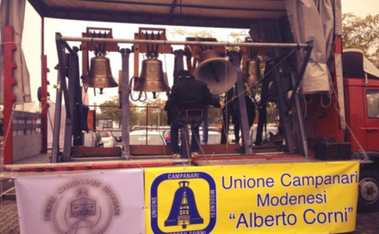 Ottobre 2013 –  Piazza grande, Modena – Beatificazione Rolando Rivi
