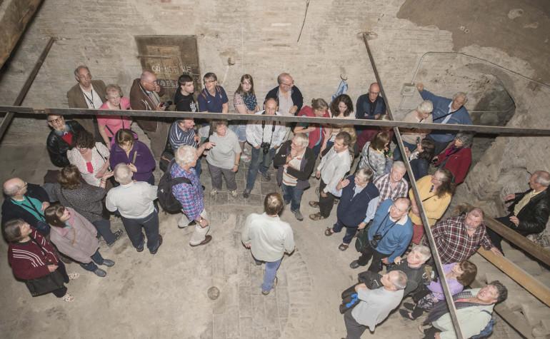 Ottobre 2013 –  Villa Bagno – Visita degli amici inglesi