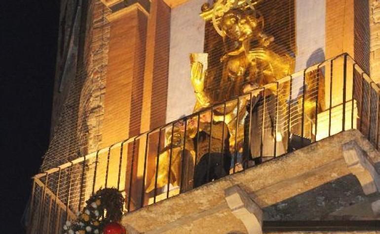 Gennaio 2014 – Omaggio alla Madonna dorata della Cattedrale